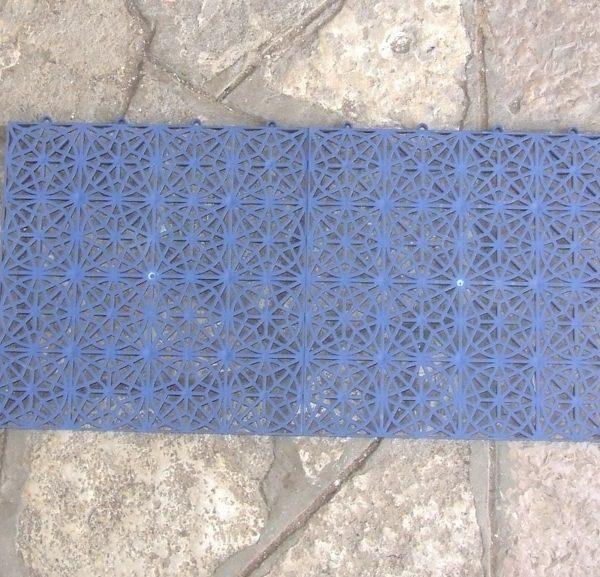 שטיח שקוף כחול מונע החלקה