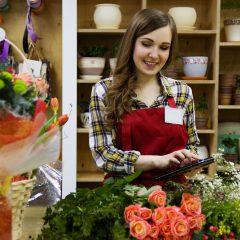 מסכי אוויר לחנות פרחים